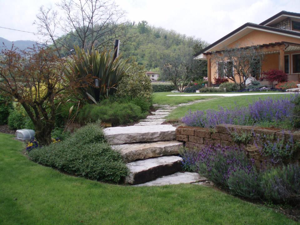 giardino realizzato da Vivai Zanella, Malo